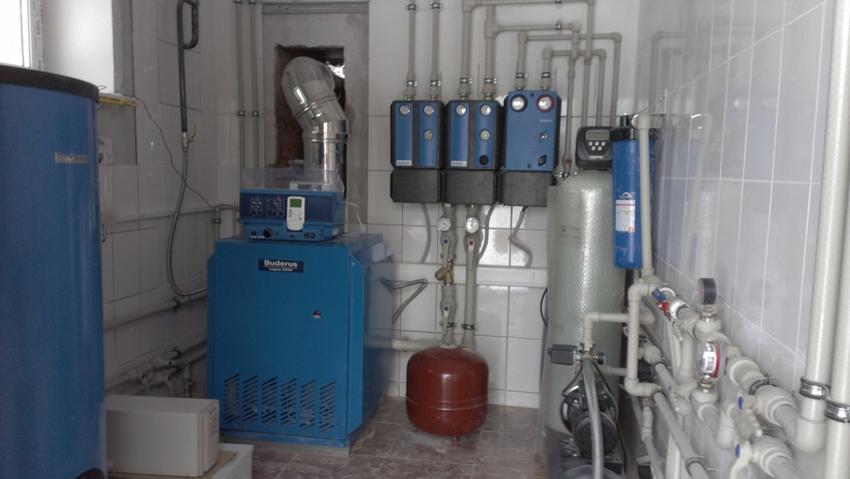 Схема дровяного отопления частного дома